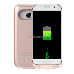 4200mah backup power bank battery charger case for samsung galaxy s7