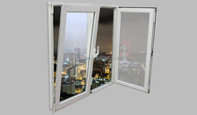 House plastic door for sale pvc tilt turn window