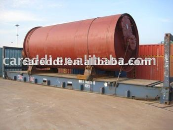 2012 High Profit Continuous Tyre Pyrolysis Machine
