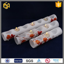 New product in China glass tube candle holder