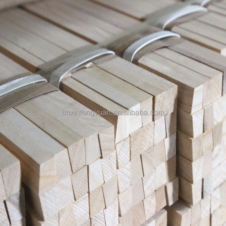 Recycle rubber wood timber paulownia wood price blue beech sawn wood timber