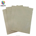 Custom Small Plain Brown Kraft 3 Side Seal Bag for Packing