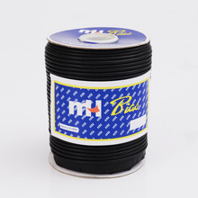 Black PU Leather Bias Tape Bias Binding Piping Cord, black bias tape