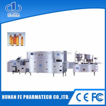 Automatic vertical vacuum filling packing machine for bottles