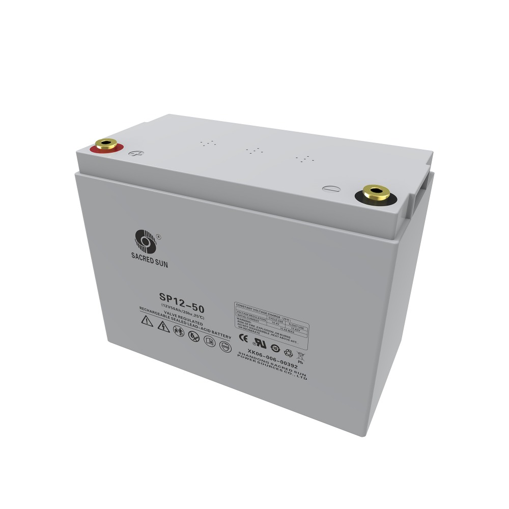 SP12-50,Good 12V 50ah rechargeable deep cycle gel storage battery for solar,energy storage battery