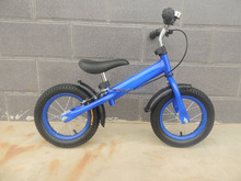 "12"" Rubber/EVA OEM steel running bike for kids/children balance bike"
