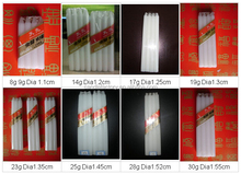 wholesale flameless and smokeless white pillar wax candles for household lighting