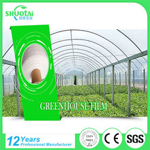 Eco-friendly 100% green biodegradable reflective agriculture and garden mulch pe clear plastic film