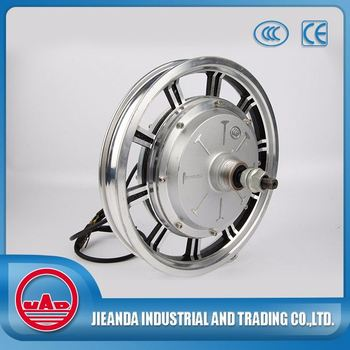 14 inch brushless dc wheel hub motor for motorcycle