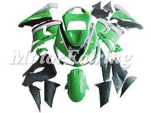 Motorcycle car body kit ABS for ZX-6R 05-06 fairing kits aftermarket motorcycle parts for Kawasaki EX-6R 2005-2006 green