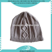 2015 latest design china factory produce soft children knitted hats