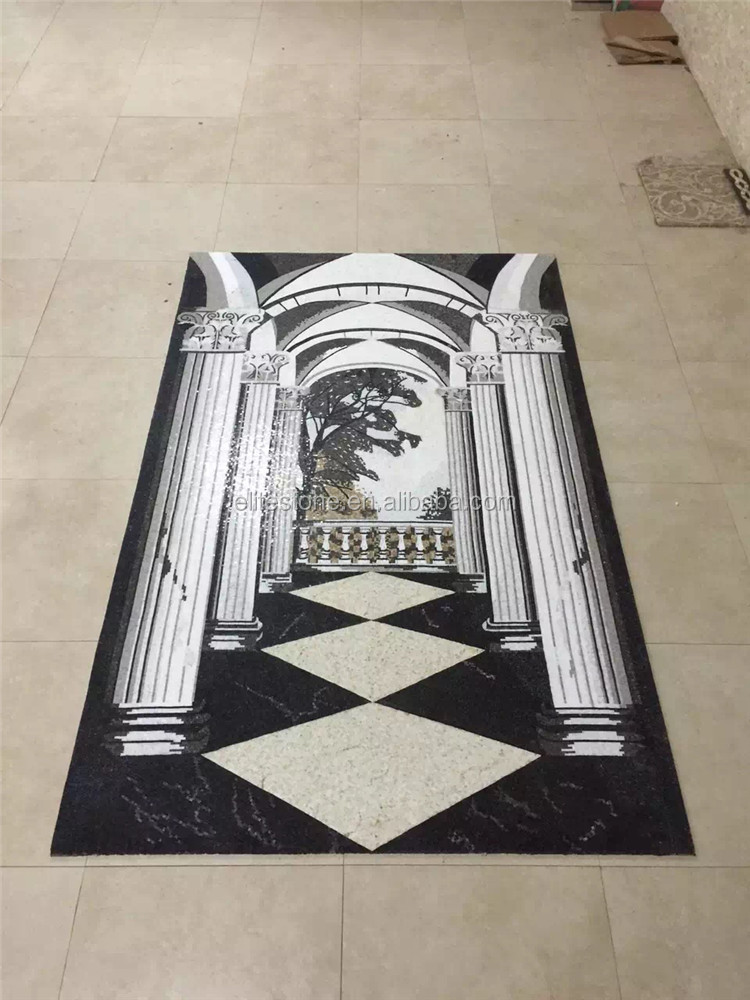 Marble mosaic art pattern, living and excellent design for backgound or wall mural