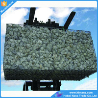 Made in China Galvanized Gabion Boxes / PVC coated Gabion Baskets / stone cage