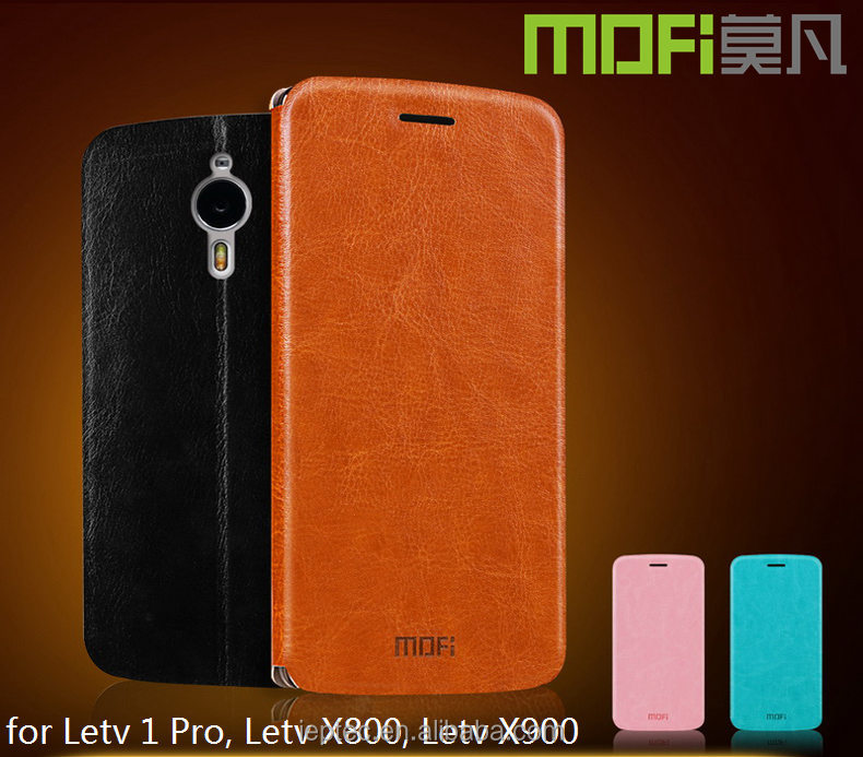 MOFi Original Vintage <strong>Leather</strong> Flip Cover Case for Letv Le One <strong>1</strong> pro X800, Mobile Phones Back TPU Housing for LeEco Letv Le1 pro