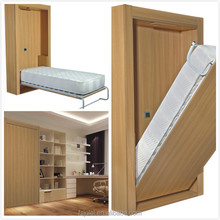holiday apartment folding hidden wall bed with motor