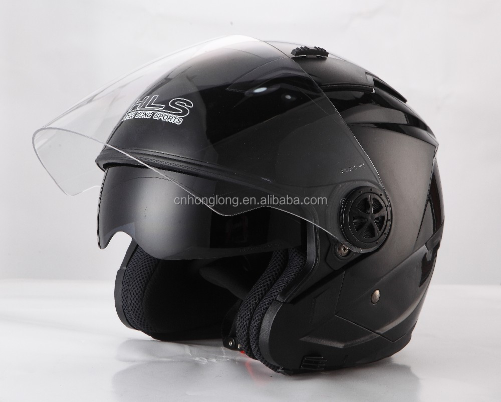 Wholesale ECE approved double visor open face motorcycle helmet