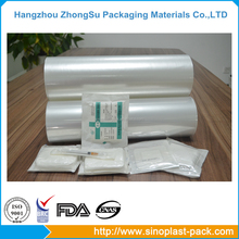 medical grade sterile pack thermal stretch film on roll