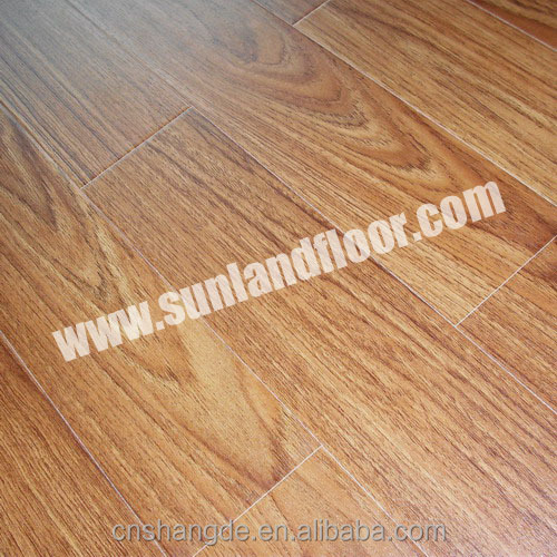 Best Price Water Resistant Basket Court Laminate Wood Flooring