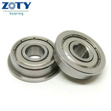high precision Stainless Steel miniature F608ZZ flanged ball bearings 8*22*7mm