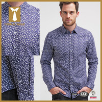 2016 Fashion design custom taolored latest shirts for men pictures