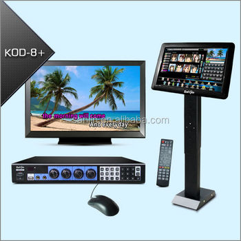 Professional Karaoke On Demand Jukebox Supports HDMI Output