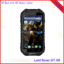 Octa Core Rugged IP68 Waterproof Android Mobile Phone Land Rover 4.7 Inch Touch Screen with NFC
