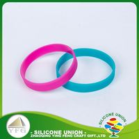 Best silicone multiple colour waterproof cheap silicone bracelet