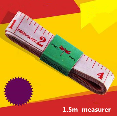 1.5m soft measuring ruler Tailor measure tape