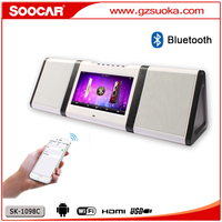 Android 4..4.2 Karaoke media player with VHF wireless MIC bluetooth 1TB HDD USB SD