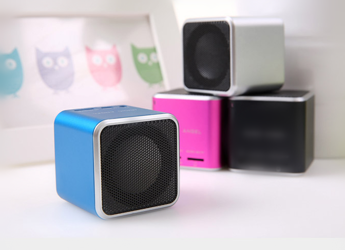 cube shaped bluetooth Speaker, Bluetooth Wireless Loudspeaker