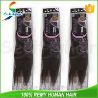 2017 Best Selling 100% Brazilian CHOCOLATE Straight Yaki remy human Hair Weave