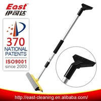 car clean plastic snow broom and ice brush