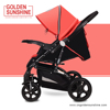 New style JINBAO 858 CCC certificate China manufacturing good baby stroller/pram/baby carriage/pushchair