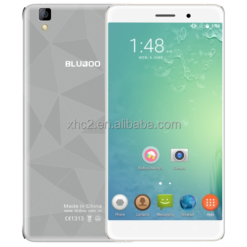 "New Arrival Fashion 2+16GB 5.5"" Android 6.0 MTK6580A Quad Core touch screen BLUBOO Maya mobile phone with 13.0MP camera"