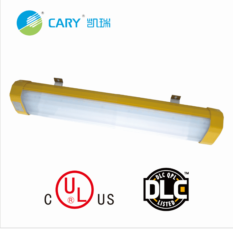 UL ATEX Certificate 130LM/<strong>W</strong> 5000K 6000K Professional Linear Explosion Proof Led Lights for Gas Station Oil Refinery