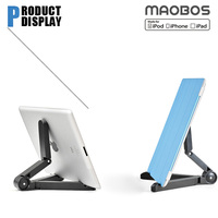 Folding Desk kiosk tablet stand for ipad