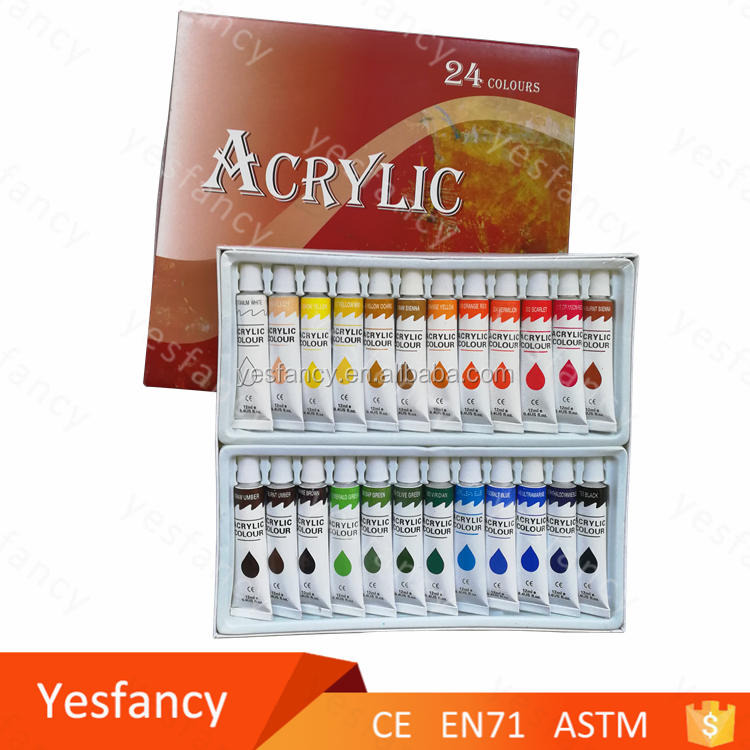 good price non toxic painting acrylic paint set