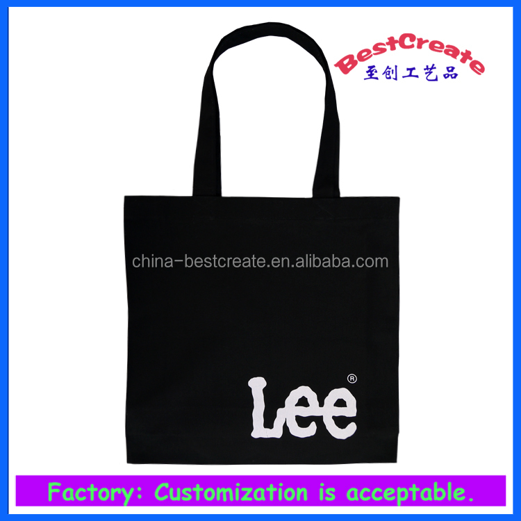 Custom printed canvas shoe bag with logo and color