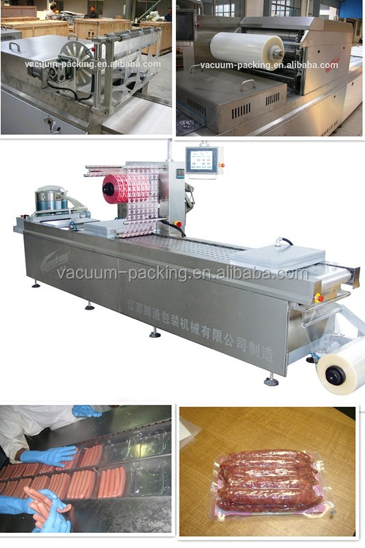DZR420 beef steak Thermoforming Vacuum Map Packaging Machine