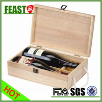Top grade wine boxes wooden
