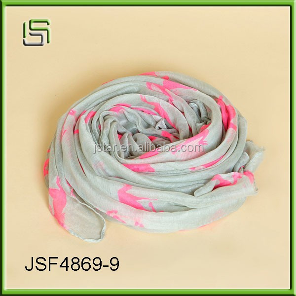 The new fashion lady scarf animal printing Bali yarn scarves