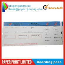 Airline Boarding Pass airline ticket paper