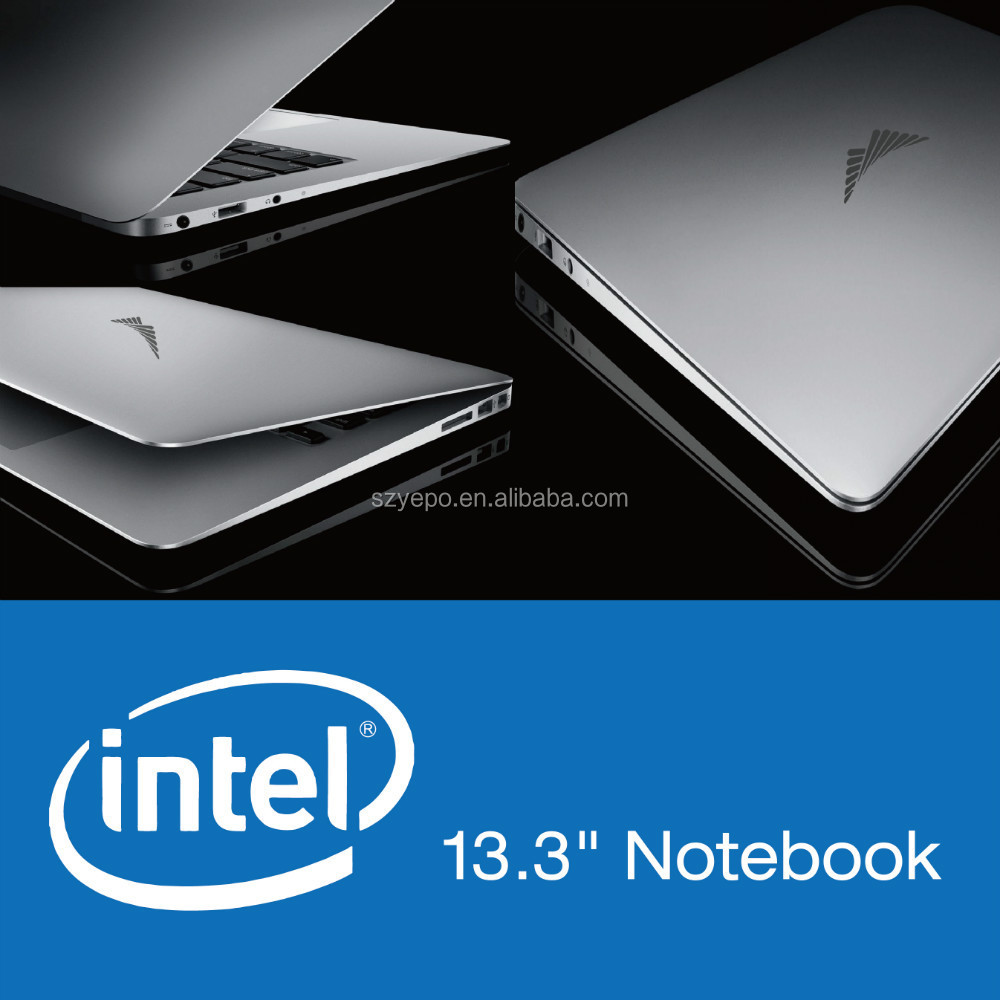 13.3 inch Laptop Computer with Quad core 2GB 64GB Notebook PC