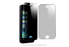 Competitive price form Sinva! round edge pricvacy filter screen protector for iphone5 factory OEM welcome!