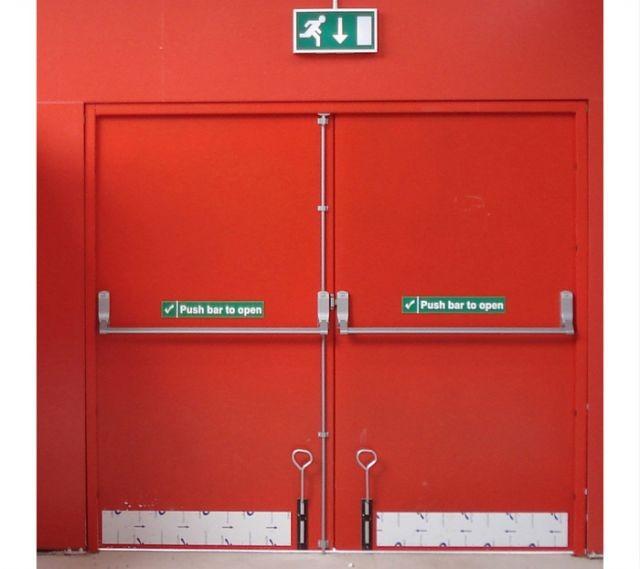 Fire Exit Door : Emergency doors hours fire rated exit metal