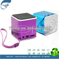 hifi music promotion mini speaker mp3 angel