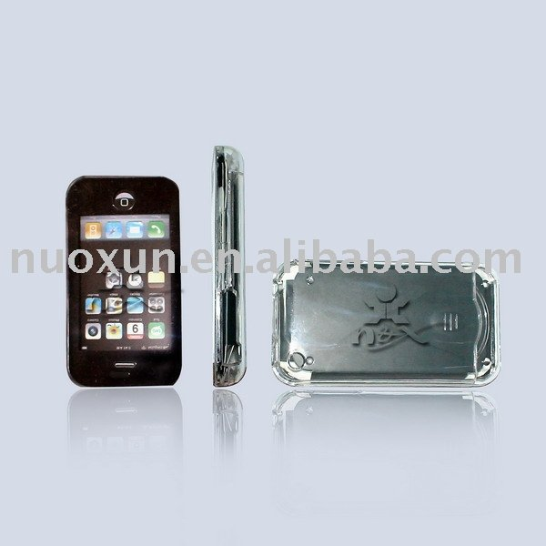 Crystal Case with screen protector for Iphone