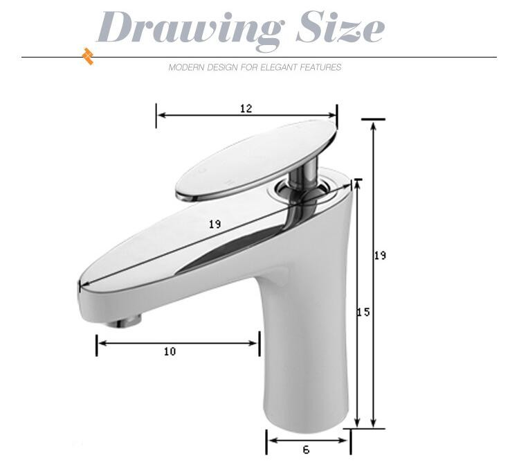 (YLS822-11AE) China wholesale sanitary ware golden handle bathroom faucet