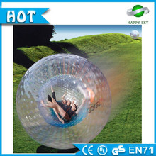inflatable glow zorb ball, Snow PVC or TPU zorb ball,inflatable glow beach ball