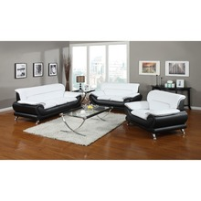 low price new fashion modern style home furniture leather sectional classic sofa set in alibaba